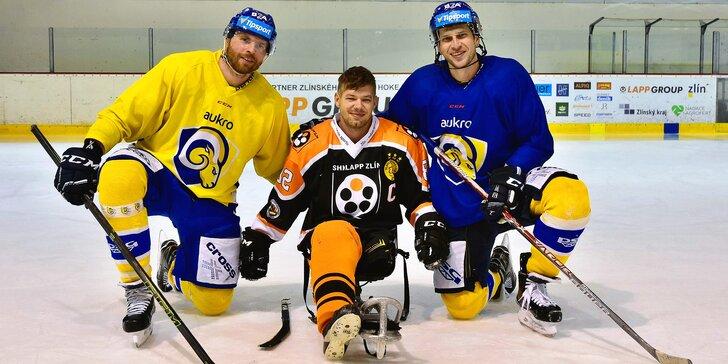 Podpořte české sledge hokejisty stejně jako hvězdy hokejové extraligy