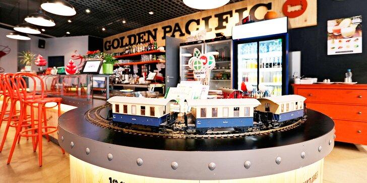 Otevřený voucher do Golden Pacific Café v hodnotě 300, 500 nebo 1000 Kč
