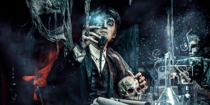 Vítejte ve Frankensteinově laboratoři: 60min. úniková hra pro 2-6 hráčů