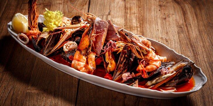 Carpaccio i plody moře: degustační menu pro 2 milovníky středomořských lahůdek