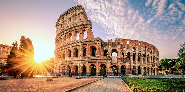 To nejlepší z Itálie: Řím, Vesuv, Pompeje, Neapol, Florencie s ubytováním na 3 noci