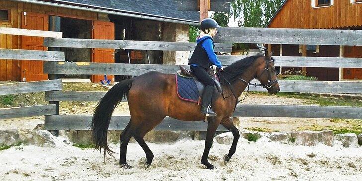 Intenzivní týdenní kurz jízdy na koni - Pro děti, rodiče i prarodiče