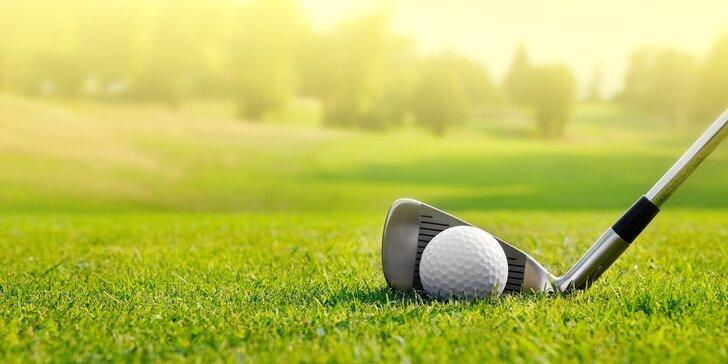 Objevte svět golfu: tréninky pro nováčky s teorií, nácvikem hry i občerstvením