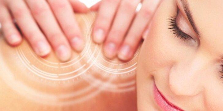 Hloubková masáž pro úlevu svalů v délce 60 nebo 90 minut