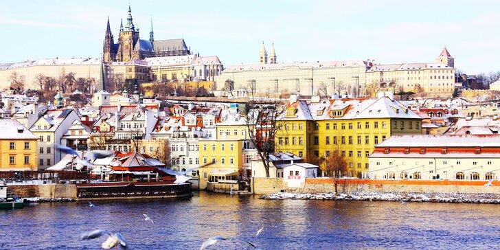 Zimní interaktivní vycházka v Praze pro jednotlivce i rodiny s dětmi