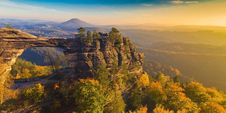 Relaxační wellness pobyt v Českém Švýcarsku: Polopenze i balíček procedur
