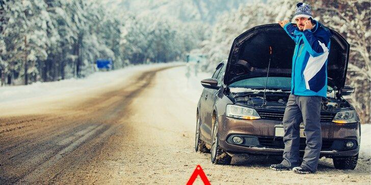 Zimní prohlídka vozu včetně testování autobaterií