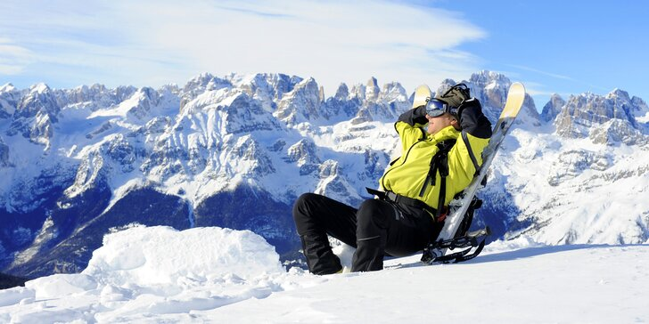 Parádní lyžovačka v italské Paganelle: 2 noci s polopenzí, doprava a skipas
