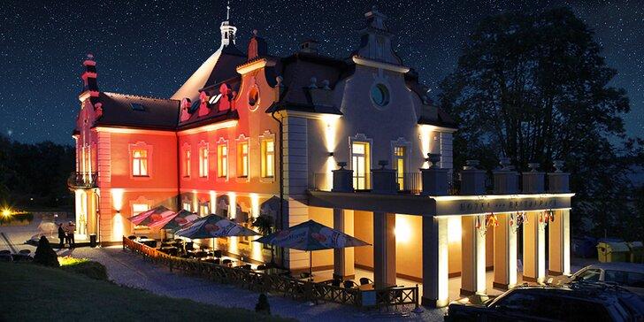 Tři pohádkové dny na zámku Berchtold: masáž, večeře a rodinná zábava