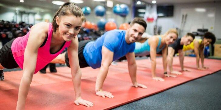 Redukční a kondiční fitness: 1-10 lekcí pod vedením trenéra
