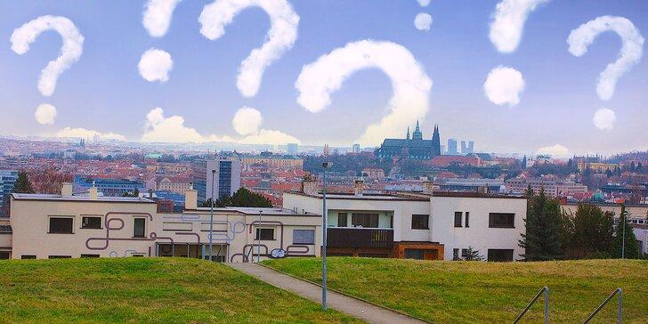 Zábava i poučení: Venkovní šifrovací hra na pražské Hanspaulce