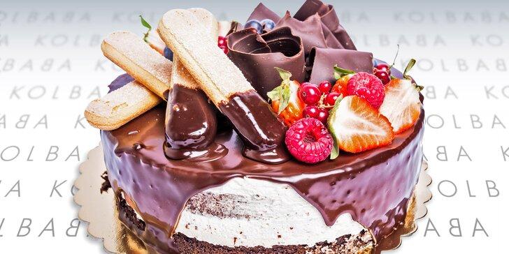 Zlatý hřeb každé oslavy: dort Baileys z brněnské cukrárny Kolbaba