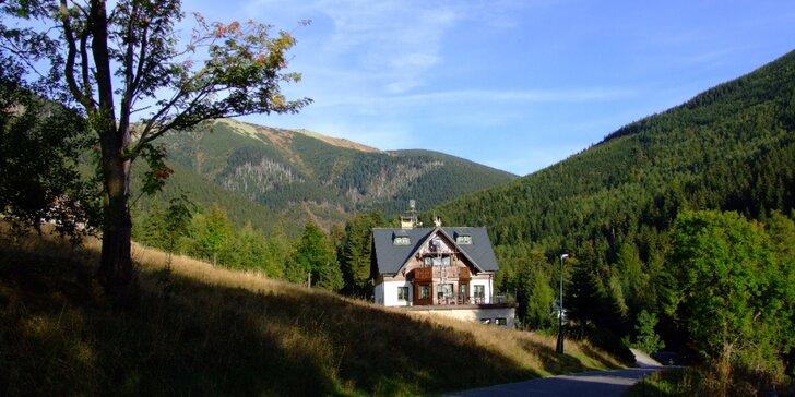 Jarní pohoda ve Špidlerově Mlýně: Polopenze, hodina v sauně i karta výhod