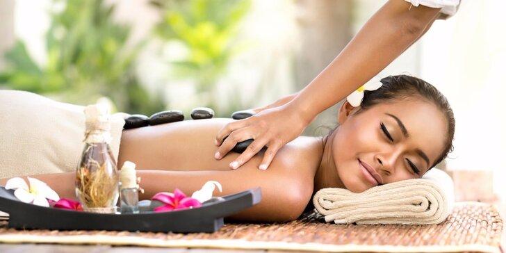 60 nebo 90 minut thajské masáže dle vašeho výběru