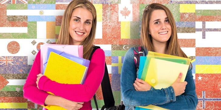 Otevřený voucher do jazykové školy na kurzy angličtiny s českým lektorem