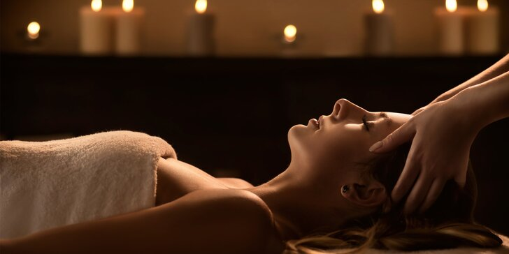 120 minut relaxu pro dámy s masáží a drinky v salonu Royal Jasmine Spa