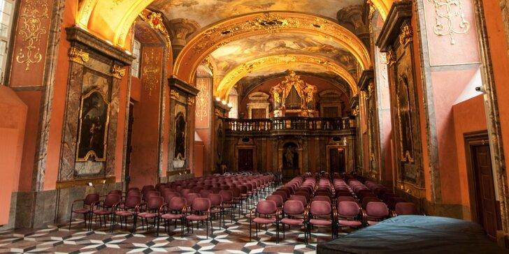 Jedinečná lednová nabídka podvečerních koncertů v Zrcadlové kapli Klementina