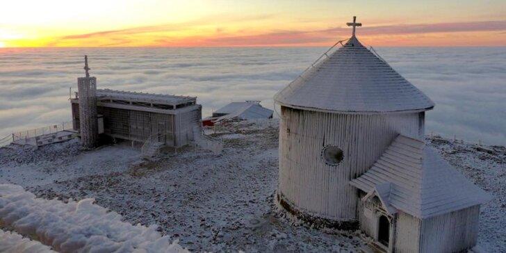 Zimní pohodový pobyt ve Špindlu s polopenzí a volným vstupem do sauny