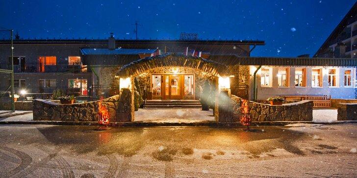 Vánoce v Tatrách: polopenze, bazén, sauny a případně all inclusive nápoje
