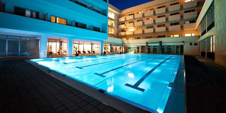 Relax ve slovenských lázních: 3* hotel, aquapark a až 21 léčebných procedur