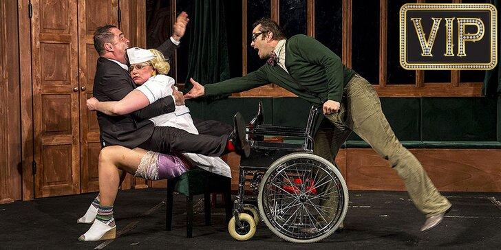 Vstupenka na divadelní komedii Rodina je základ státu