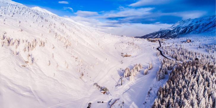 Na hory do oblíbeného skiareálu Adamello: 3* hotel s polopenzí a wellness
