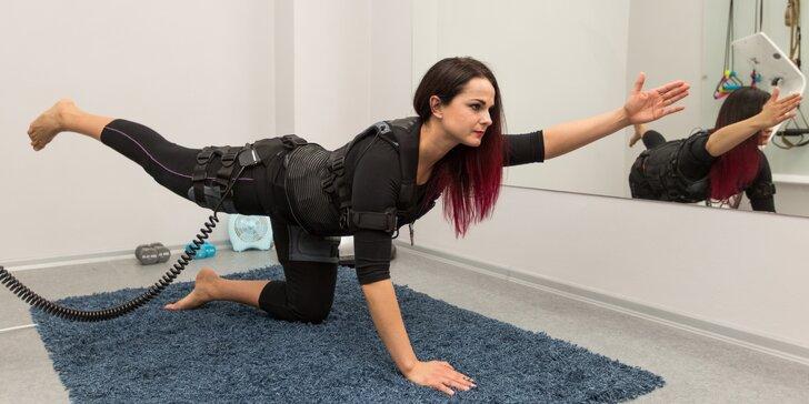 Stimulace svalů elektřinou: Speciální metoda pro intenzivnější a kratší posilování