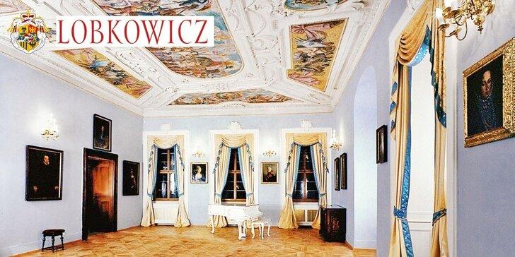 2 vstupenky na prohlídku Lobkowiczkého paláce s unikátní uměleckou sbírkou