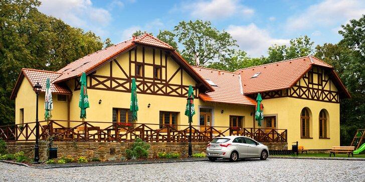 Romantický pobyt s čtyřchodovou večeří na rozhledně Kaňk u Kutné Hory