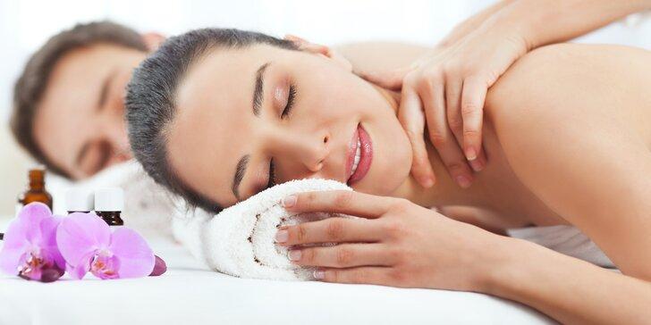 Dokonalé uvolnění ve dvou při párové odpočinkové masáži