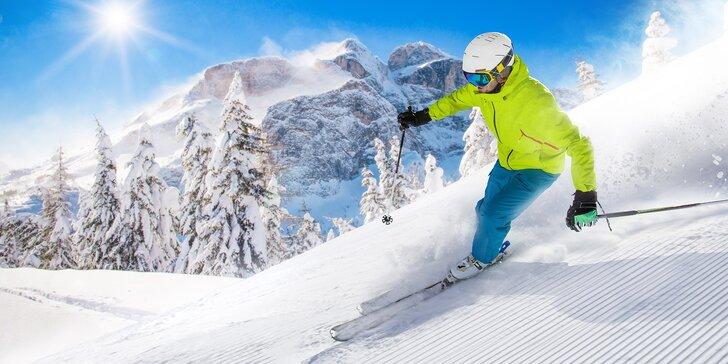 Na lyže do Falcade: doprava, skipas, 2 noci v hotelu Arnica s polopenzí a wellness