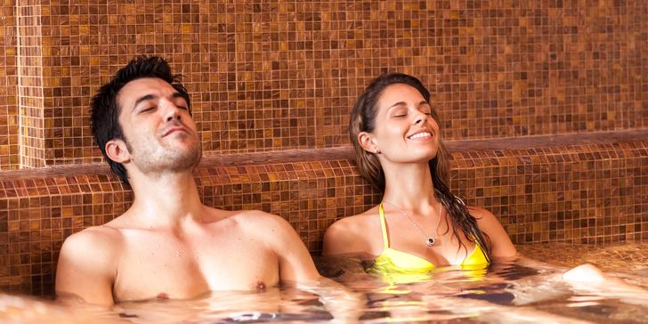 Relax v Turčianských Teplicích pro 2 nebo 4 osoby s polopenzí a aquaparkem