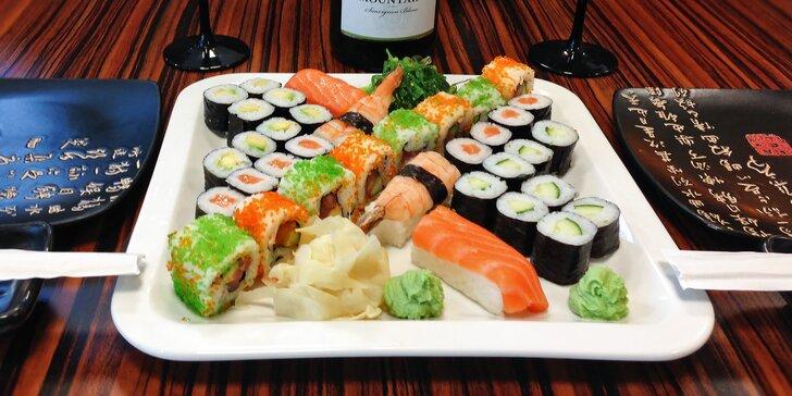 Zima s nádechem exotiky: 20 nebo 36 lahodných kousků v sushi setu