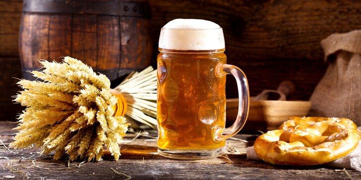 Pobyt v pivovarském hotelu s exkurzí a možností neomezené konzumace piva