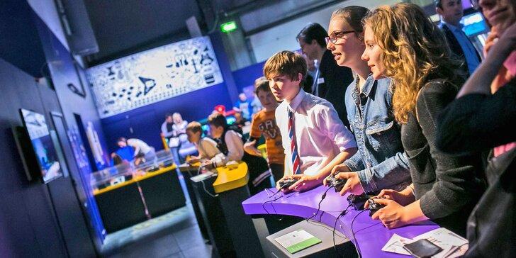 Ráj pařmenů: 2 vstupenky na Game On - největší výstavu o historii videoher