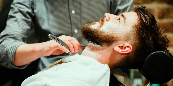 Hoďte hlavu do gala: Balíčky s péčí o účes i vousy v Authentic Barber Shopu