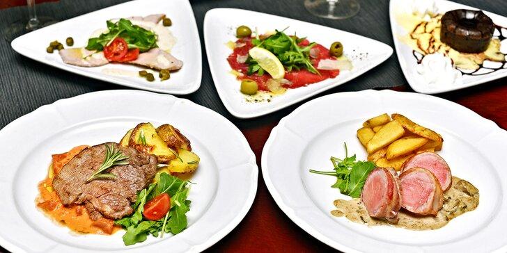 4 chody, z kterých vám bude do zpěvu: Degustační menu v italské restauraci