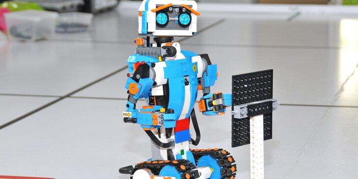 Robotická olympiáda pro děti od 9 do 12 let: konstrukce a závody robotů