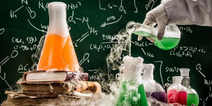 Vstupte do bláznivé laboratoře: zábavná chemická show pro děti od 7 do 10 let