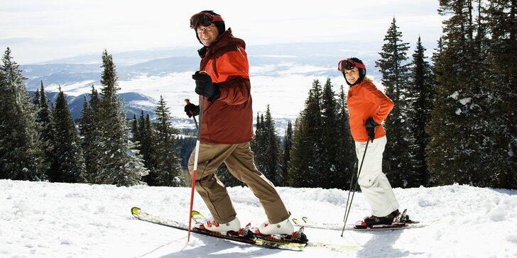 Na lyže do Nízkých Tater: pohodová dovolená pro 2 osoby i s polopenzí