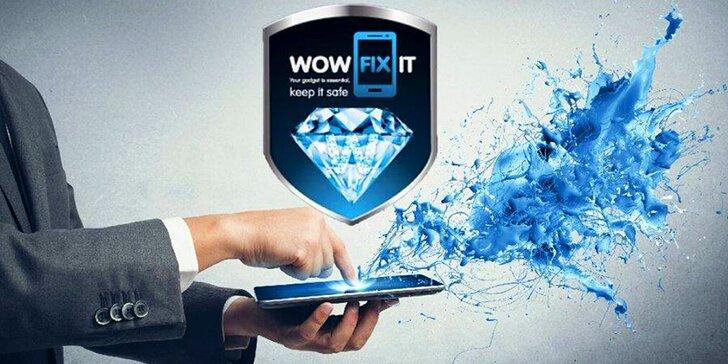Nanotechnologie pro váš smartphone: ochranné tekuté sklo Wowfixit na displej