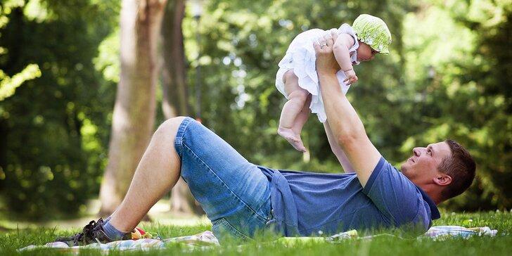 Hodinové focení v exteriéru: párové, těhotenské, rodinné nebo portrétní snímky