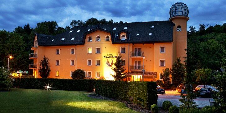 Romantický pobyt kousek od Olomouce: polopenze, sauna i sleva na vířivku