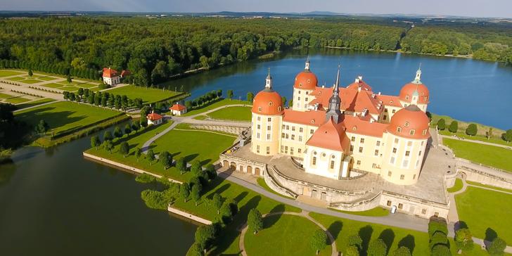 Za Popelkou na zámek Moritzburg a do Drážďan na památky nebo nákupy