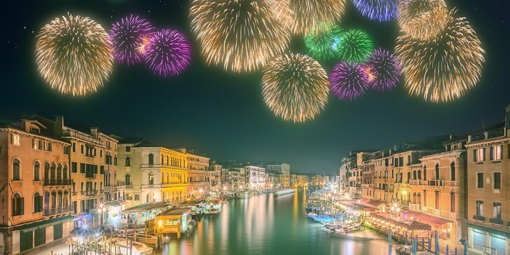 Oslavte Silvestra v jednom z nejpůsobivějších italských měst – v Benátkách