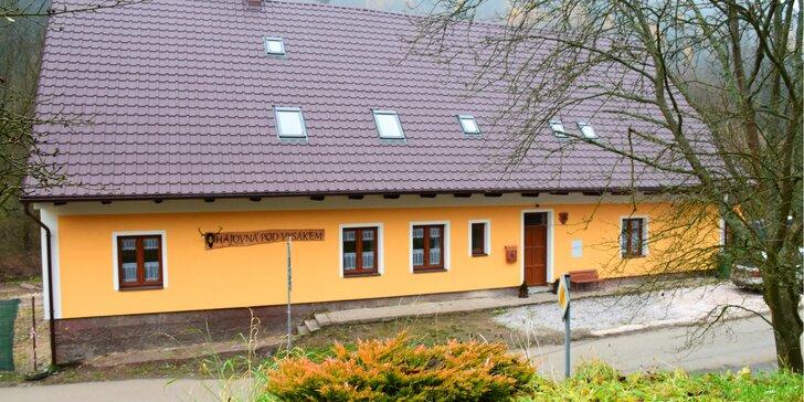 Zímní i jarní pohoda: apartmán až pro 4 osoby kousek od Adršpašských skal