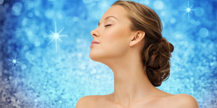 Luxusní anti-aging ošetření kosmeceutikou nanokolagenové řady vč. úpravy obočí