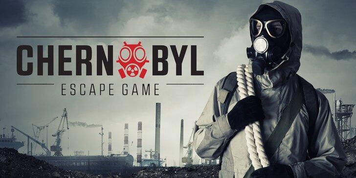 Chernobyl: úniková hra v centru Plzně ve dvou úrovních až pro 4 či 6 hráčů