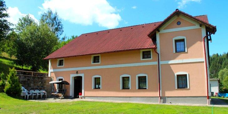 Kouzlo zimního a jarního Adršpachu: Domácký penzion, lahev vína a výlety