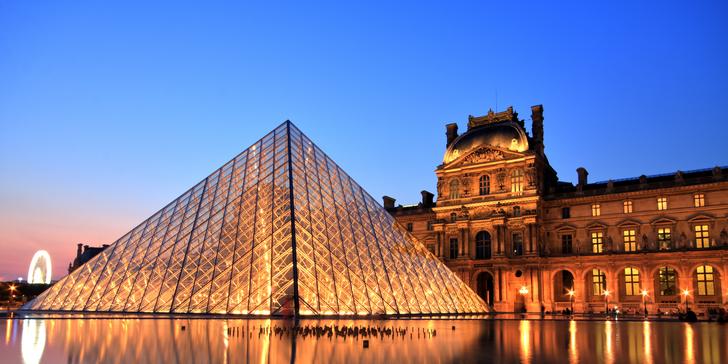 Výlet do Paříže: Eiffelova věž, muzeum Louvre, Notre Dame, Tour Montparnasse